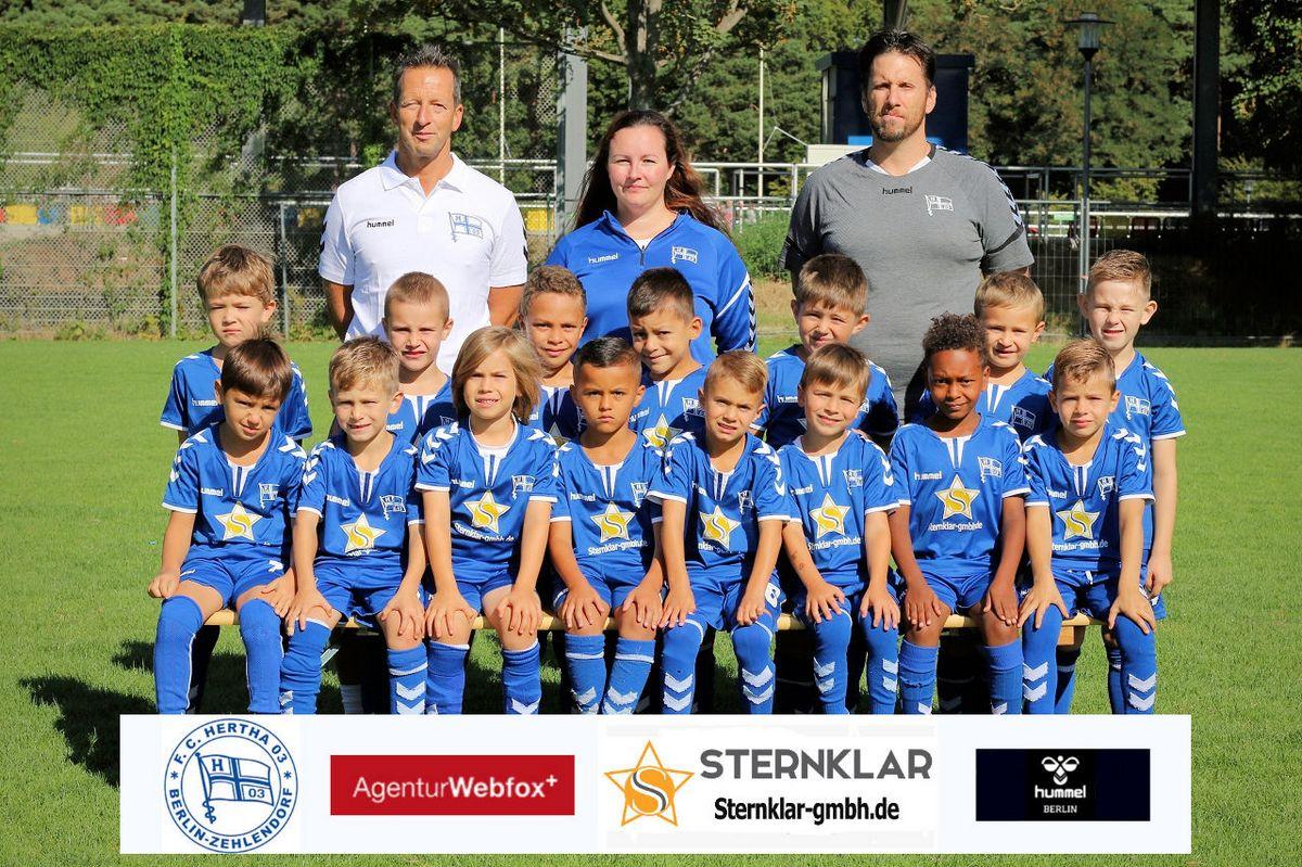 1. G-Junioren - F.C. Hertha 03 Zehlendorf