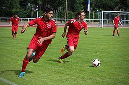 A-Jugend gegen Hertha BSC / Pokal