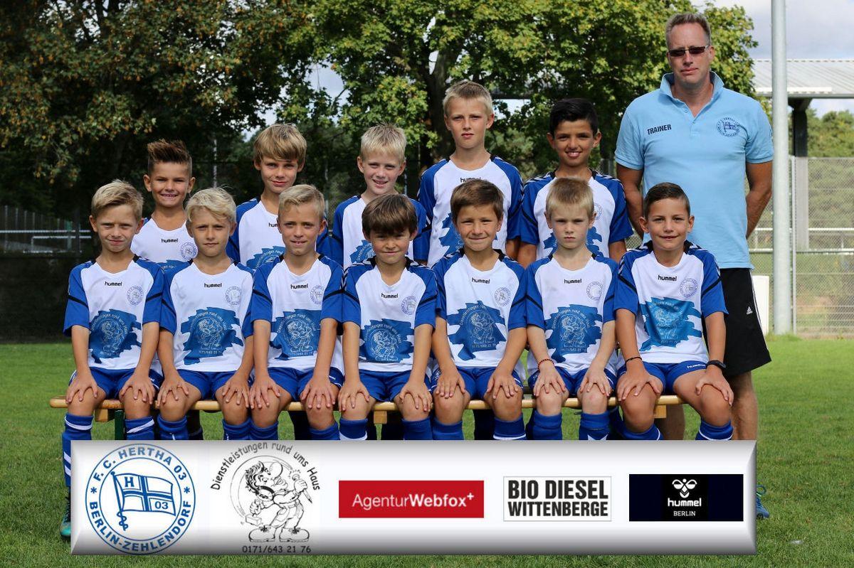 4. E-Junioren - F.C. Hertha 03 Zehlendorf