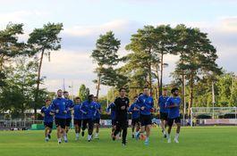1.Herren beim Training Sep.19