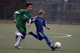 1.D-Junioren gegen Fuechse o:o