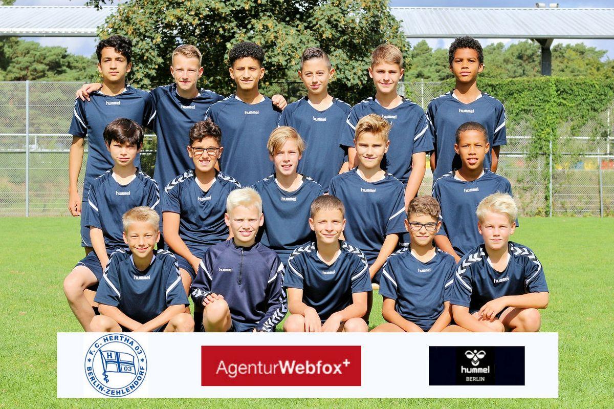 1. D-Junioren - F.C. Hertha 03 Zehlendorf