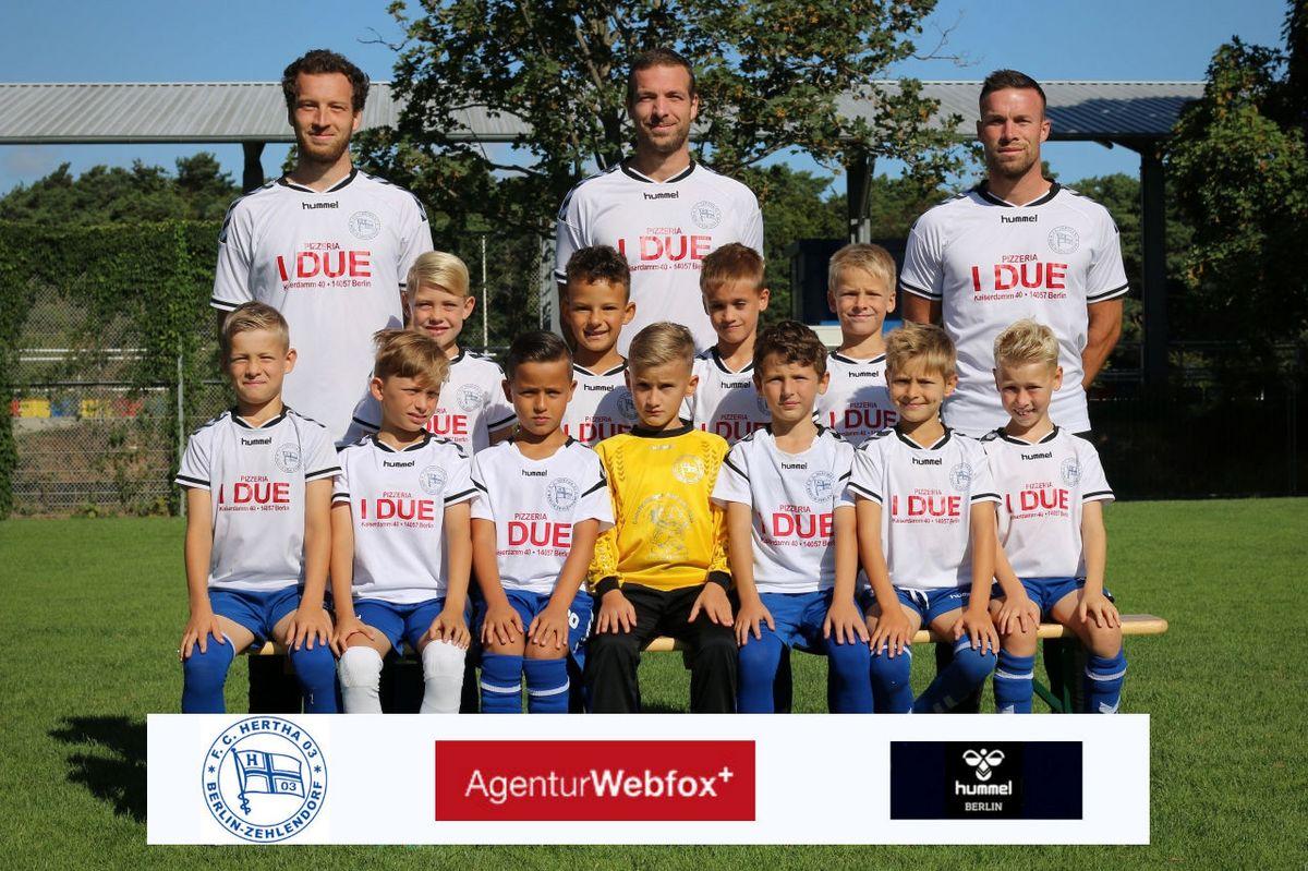 1. F-Junioren - F.C. Hertha 03 Zehlendorf