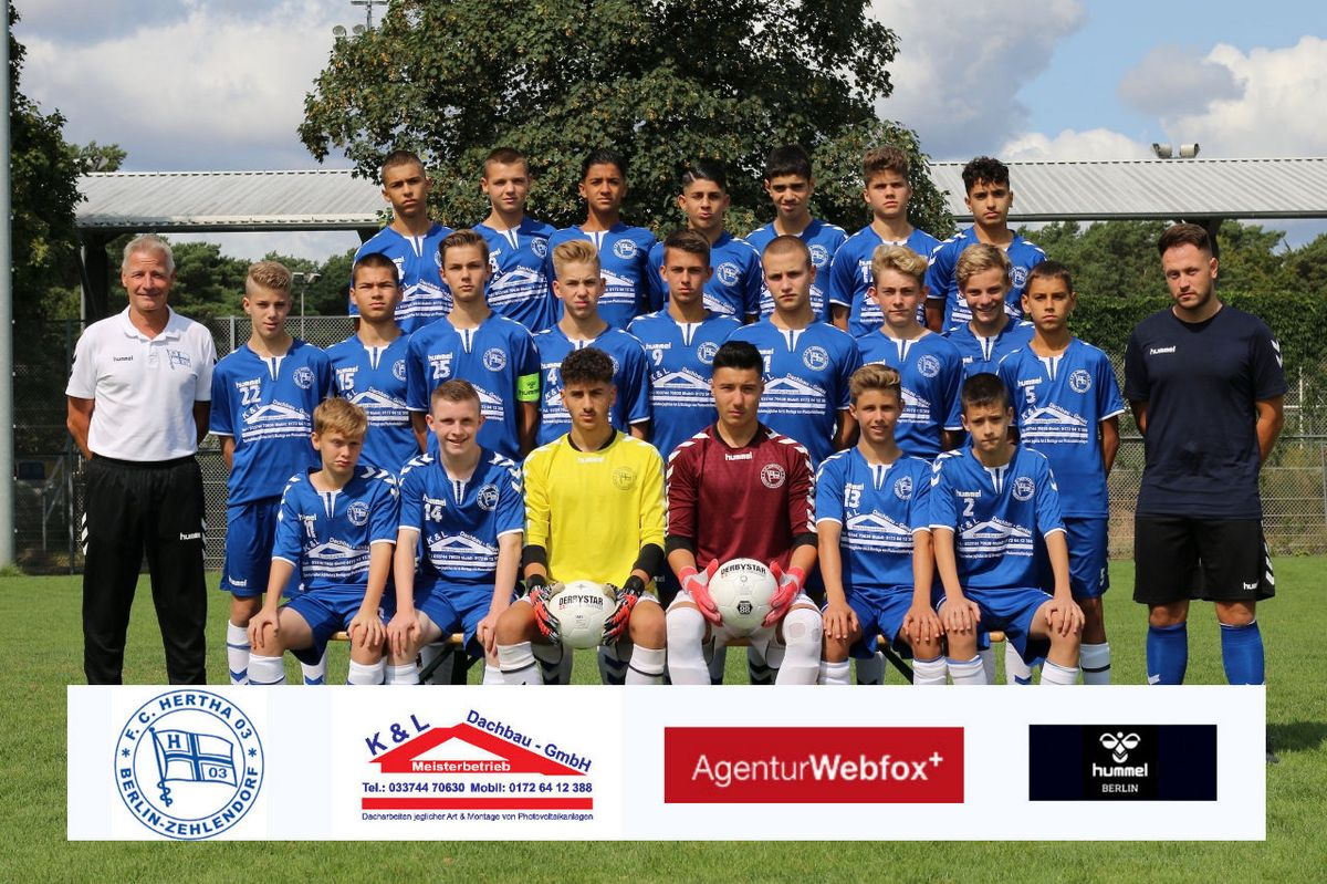 1. C-Junioren (U15) - F.C. Hertha 03 Zehlendiorf
