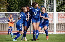 B-Mädchen gegen Bremen