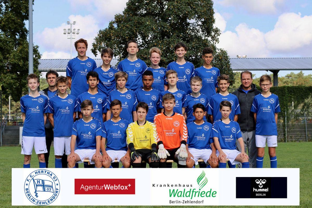 3. C-Junioren - F.C. Hertha 03 Zehlendorf