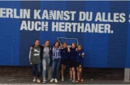 Mädchen bei Hertha BSC
