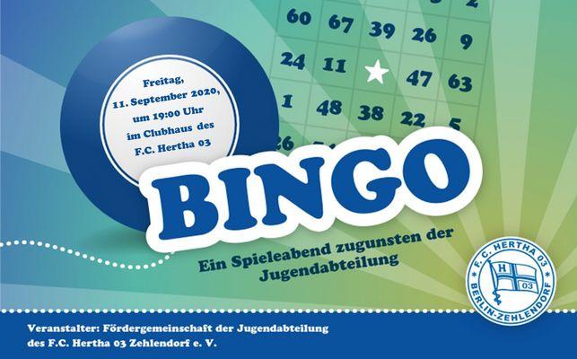 Bingo-Absage