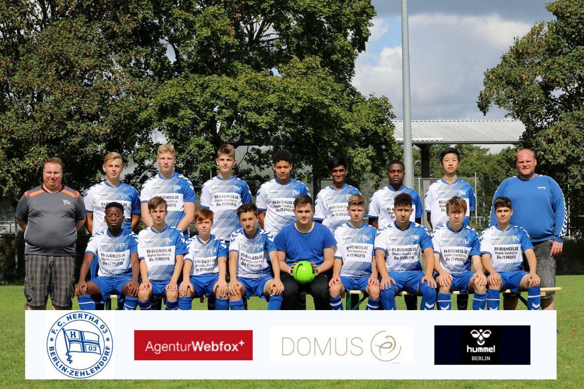 6. B-Junioren - F.C. Hertha 03 Zehlendorf