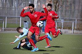 A-Jugend gegen Chemnitzer FC