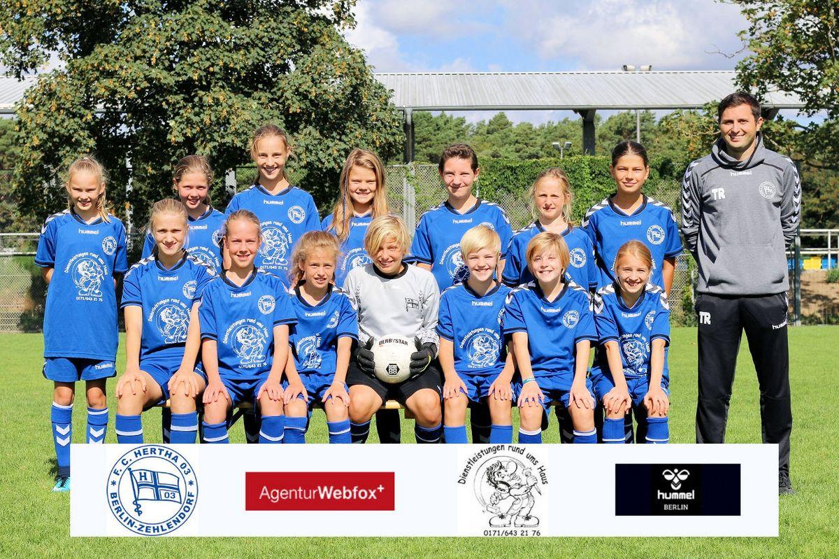 1. D-Juniorinnen - F.C. Hertha 03 Zehlendorf