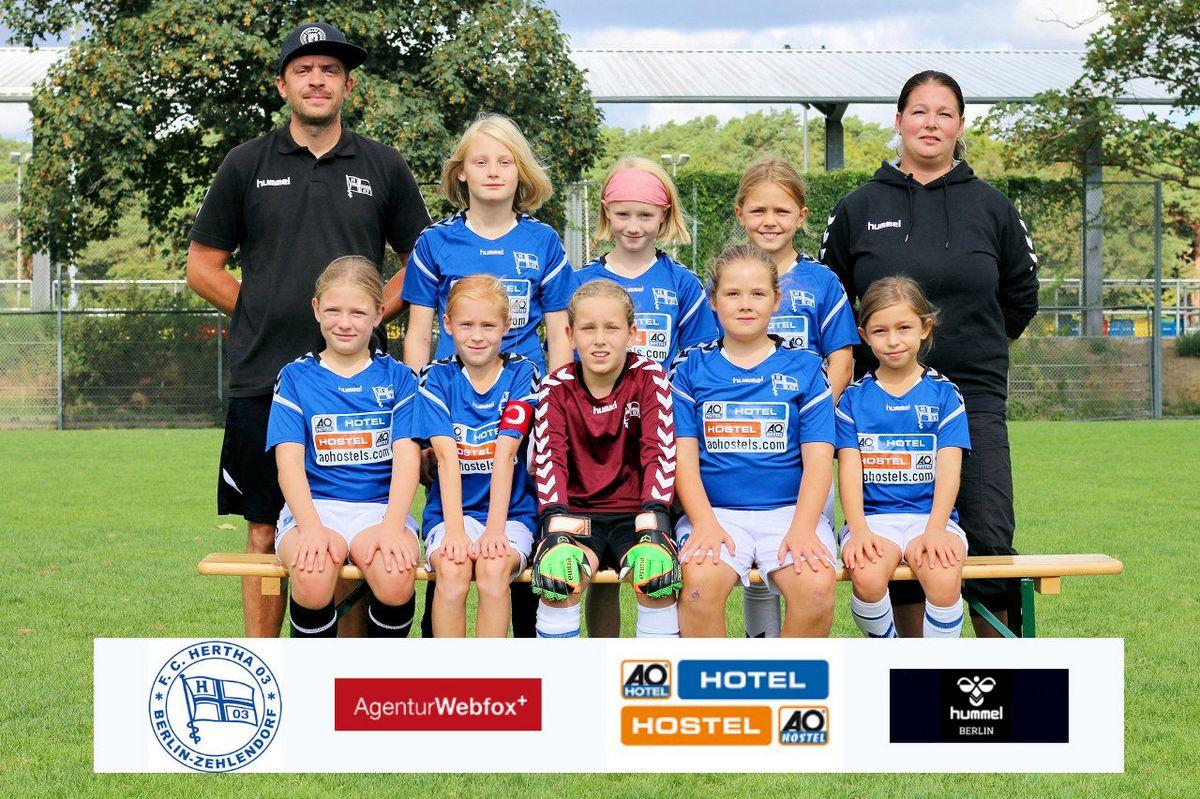 1. E-Juniorinnen - F.C. Hertha 03 Zehlendorf