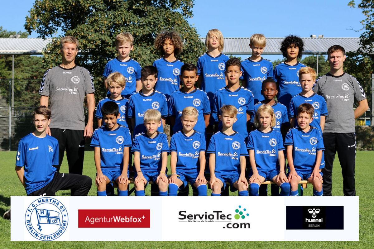 8. D-Junioren - F.C. Hertha 03 Zehlendorf