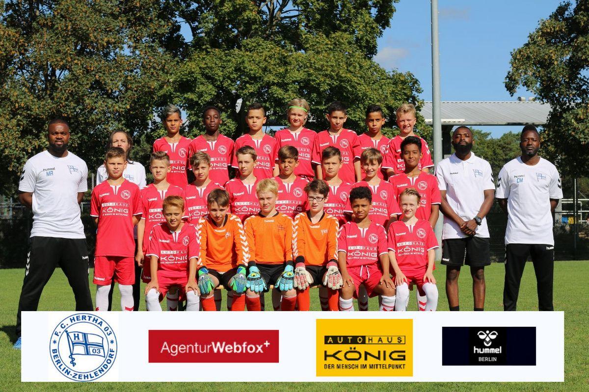 5. D-Junioren - F.C. Hertha 03 Zehlendorf