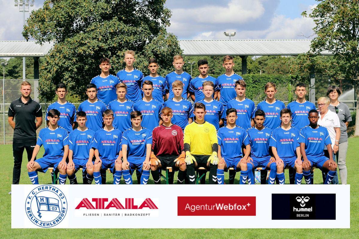 1. B-Junioren (U17) - F.C. Hertha 03 Zehlendorf