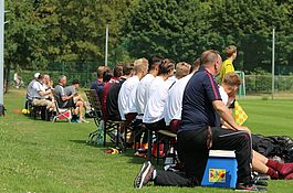 Testspiel bei BFC Dynamo