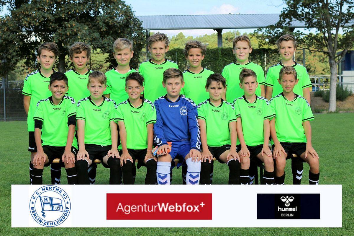 4. D-Junioren - F.C. Hertha 03 Zehlendorf