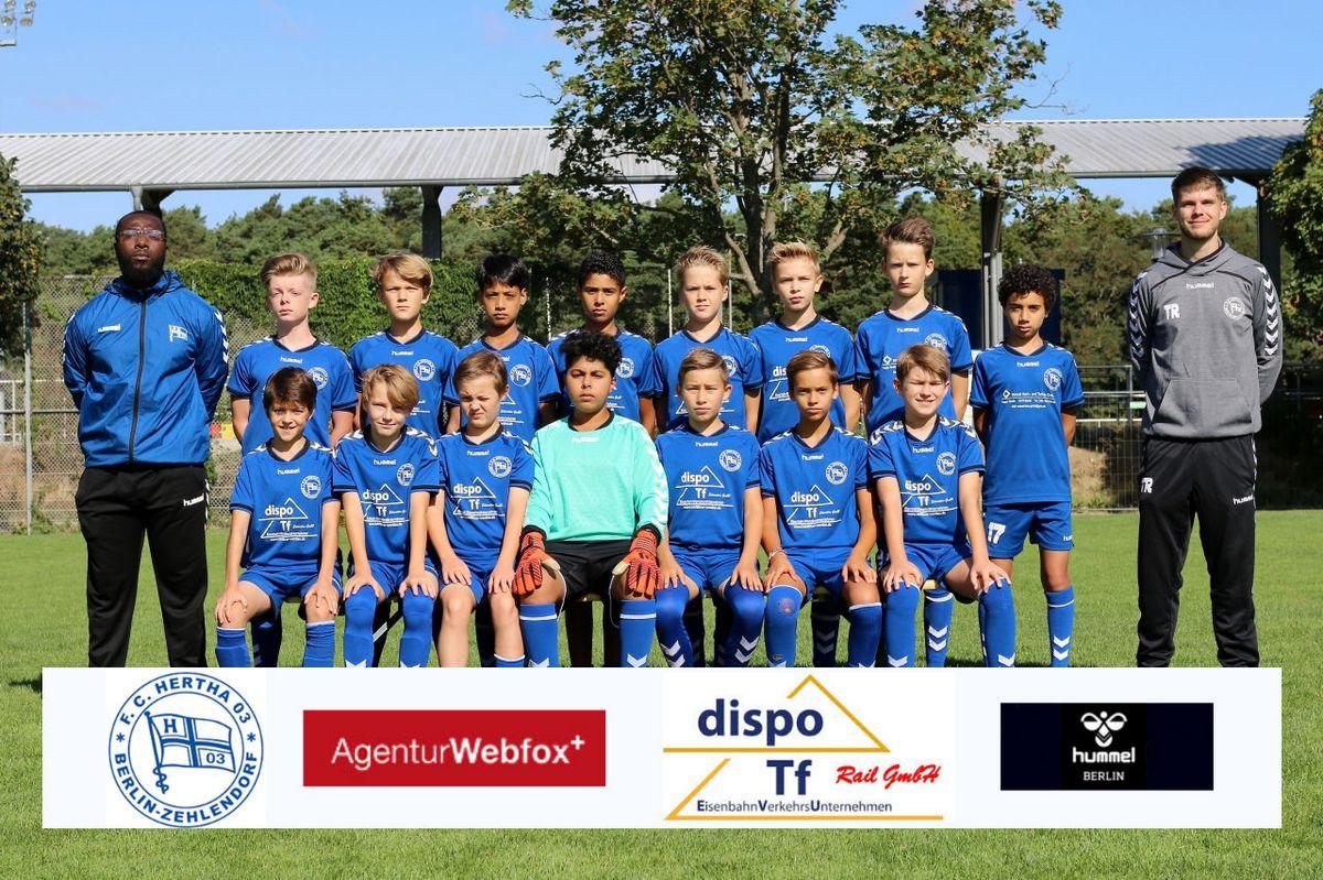 3. D-Junioren - F.C. Hertha 03 Zehlendorf