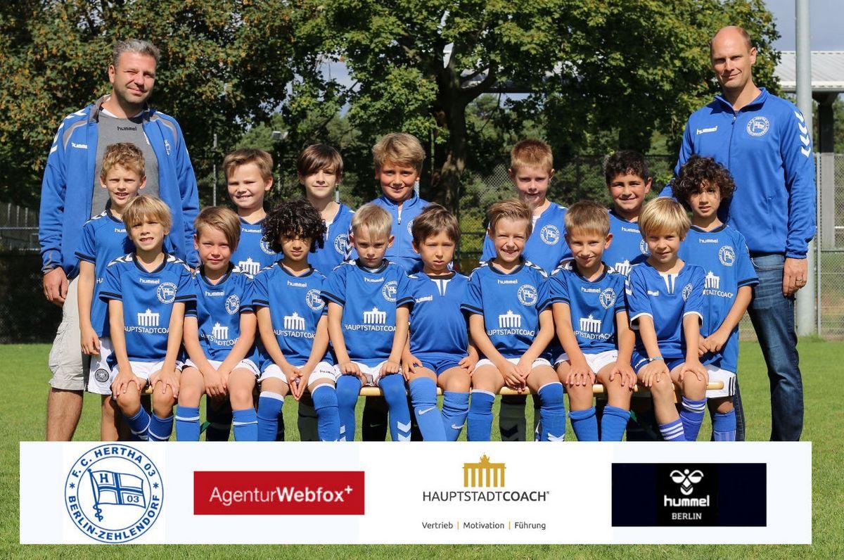 5. F-Junioren - F.C. Hertha 03 Zehlendorf