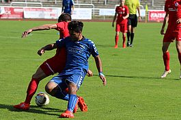 A-Junionren gegen Hansa Rostock II