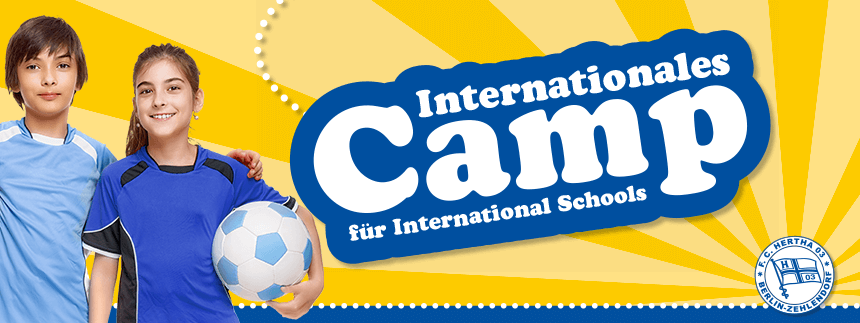 Internationales Camp für International Schools