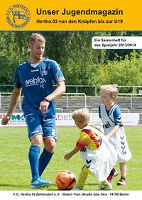 Hertha 03 Jugendmagazin 2013/2014
